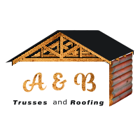 A&B Trusses and Roofing Logo June 2020 White Shadow 200px