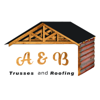 A&B Trusses and Roofing Logo June 2020 White Shadow 500px