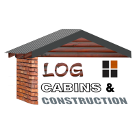 Log Cabins & Construction Logo June 2020 White Shadow 500px